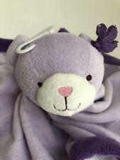 New listing Bear Lovey Security Blanket Tiddliwinks Purple