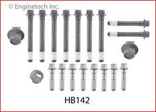 Engine Cylinder Head Bolt Set-GAS, OHV, CARB, Natural, General Motors, 16 Valves