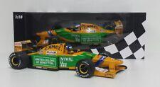 MINICHAMPS 1/18 MODELLINO AUTO F1 BENETTON FORD B192 SCHUMACHER SPA 1992 DIECAST