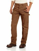 Dickies Mens Jeans Brown Size 34X34 Relaxed Straight Leg Carpenter $34- 709