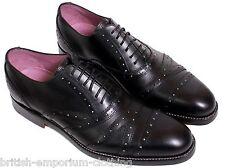 VIVIENNE WESTWOOD Mens Black Leather HANDMADE STAR Shoes UK6 US7 EU40 BNiB