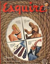 Esquire--Jan. 1949 - Gate-fold by Al Moore-----73