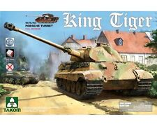 TAKOM GERMAN KING TIGER PORSCHE TURRET SD.KFZ.182  1/35 COD.2074