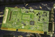 ISA 16-bit Soundkarte Crystal CX4237B-XQ3 Audiodrive MIDI Gameport