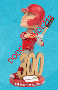Los Angeles Angels SGA PRESALE Trout 300 HR bobblehead 5/21