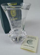 Vase Clear Crystal & Cut Glass