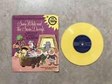 Snow White And The Seven Dwarfs Whistle While You Work Golden Record