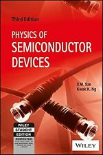 Physics of Semiconductor Devices by Simon M. Sze and Kwok K. Ng