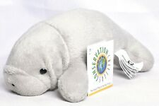 "WILDLIFE ARTISTS Manatee 8"" Plush Stuffed Toy Animal CCR-1850 >NEW<"