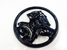 Holden VT VX VU Custom Piano Black Lion Bonnet Emblem Badge Genuine S SS Calais