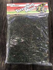 Tetra Terrafauna Green Tree Terrarium Moss 450 Sq Inch Reptile Moss 1 Gallon Bag