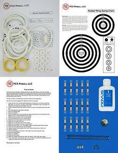 1977 Segasa Monaco Pinball Machine Tune-up Kit