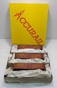 """Accurail 3315 HO Scale """"Be Specific"""" Steel Boxcars (Pack of 3) EX/Box"""
