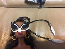 "HANDMADE MacWadeStudios OOAK Falcon Masquerade Mask for Barbie 11.5"" Dolls"