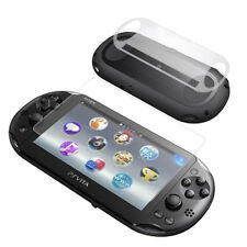 FRONT & BACK CLEAR Screen Protectors for Sony Playstation PS VITA SLIM / 2000