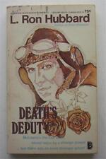 DEATH'S DEPUTY L RON HUBBARD LEISURE BOOKS 1970 1ST PAPERBACK PB ED