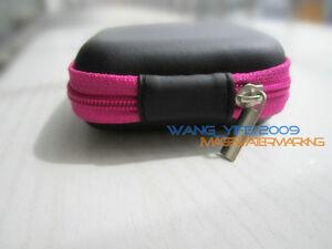 Mini Case bag storage pouch for most brand In ear headphone headset earphone
