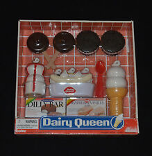 BRAND NEW DAIRY QUEEN TOYS PRETEND PLAY FOOD