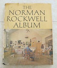 THE NORMAN ROCKWELL ALBUM  - 1ST EDITION - 1961