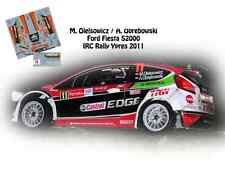 DECALS 1/43 FORD FIESTA S2000 - #11 OLEKSOWICZ - RALLYE IRC D'YPRES 2011- NCM034