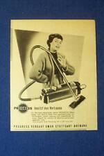 VINTAGE OLD 1950S GERMAN ADS FRIGIDAIRE KABA VACUUM