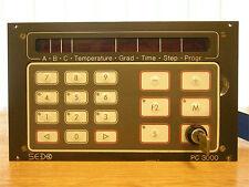 Sedo PC 3000 automática mikroprozessorsteurung bedienterminal panel