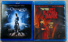 Horror Blu-ray Lot - The Orphanage (Used) Don't Be Afriad of the Dark (Used)