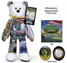 Yellowstone National Park coin bear #2 in current Series of 16