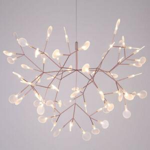 Hot Modern Plant Pendant Light LED Chandelier Lighting Branch Ceiling Lamp