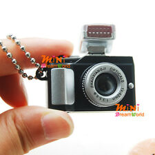 1/6 Dollhouse miniature toy Black camera with Flash and Lens FOR BARBIE BLYTHE
