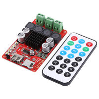TPA3116 2X 50W Bluetooth Digital Amplifier Board TF USB Decoder +Remote Control
