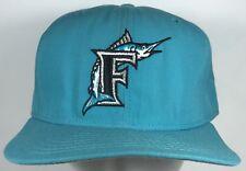 Vintage FLORIDA MARLINS Cap Hat NEW ERA FITTED SZ Med Lrg SnapBack