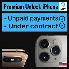 AT&T iPhone SEMI PREMIUM Factory Unlock Service X 8 8+ 7 7+ SE 80% Success rate