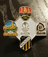 Cork City Europa League 2016 Linfield Genk Pin Badge