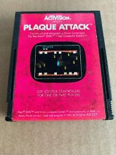 Plaque Attack (Atari 2600, 1983) CARTRIDGE ONLY TESTED!!