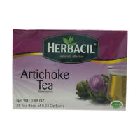 Herbacil Natural Artichoke Diet Tea. Weight Loss & Fat Burn. 25 Bags. 0.88 Oz