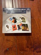 Sarah Vaughan EIGHT (8) CLASSIC ALBUMS VOL 2 New 4 CD Sealed