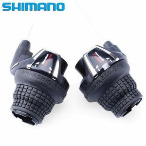 Shimano RevoShift SL-RS35 Bicycle Twist Grip Brake/Shifter Set 18/21 Speed