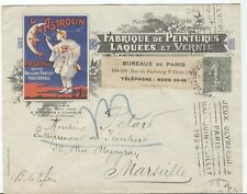 FRANCE Olympische Spiele Olympic Games 1924 Olympic Machine cancel Faub St.Denis