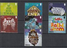 Alderney 2010 MNH Christmas Carols 7v Set Bethlehem Hark Angels Sing Stamps