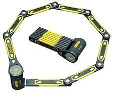 Onguard 8114 K9 Heavy Duty Link Plate Key Lock Bicycle Folding 5Keys 112.5cm