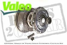 Audi Tt 1.8 T Solid Flywheel Clutch Kit Set Valeo 165 Bvp 2005 - Onwards