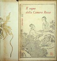 IL SOGNO DELLA CAMERA ROSSA a cura di Franz Kuhn edizioni Einaudi 1958