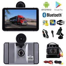 7 Zoll Android Navigationsgerät PKW LKW mit Dashcam und Rückfahrkamera Wifi BT