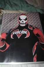 IMPACT WRESTLING SUICIDE SIGNED 8x10  PHOTO GFW WWE TNA