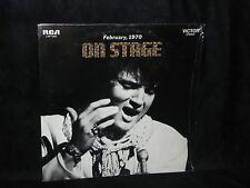 ELVIS PRESLEY ON STAGE FEBRUARY 1970 RCA LSP-4362 IN THE SHRINK NEAR MINT