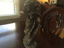 Nude Bronze Woman Statue 2003 Marked