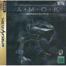(Used) Sega Saturn AMOK [Japan Import]