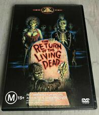 The Return Of The Living Dead DVD 1985 Rare Zombie Movie OOP - REGION 4 AUSTRALI