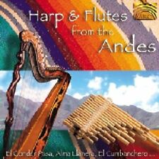 Pablo Carcamo and Oscar Benito - Harp and Flutes From The Andes [CD]